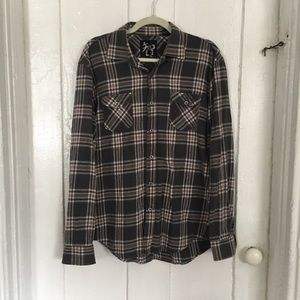 Other - Age of Wisdom Plaid Western Button Down L/S